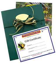 A gift certificate from the Polycarbonate Store lets them choose.