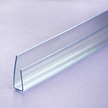 6mm Polycarbonate End Cap Easy to use Polycarbonate U-profile trim seals the ends of polycarbonate panels but allows it to breath.