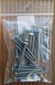 Stainless Steel Truss Head Screws. Pack of 25, four packs per order.   Use with Aluminum bar capping to hold polycarbonate panels