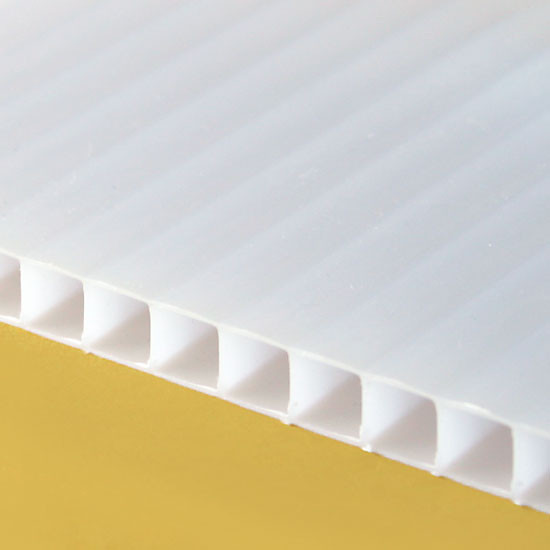 10mm Opal Diffused TwinWall Polycarbonate Sheet