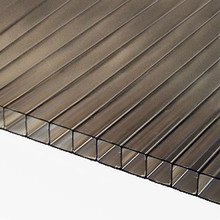 8mm Bronze TwinWall Polycarbonate Sheet Lightweight but stronger than glass or acrylic