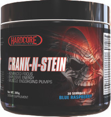 Hardcore Formulations CRANK-N-STEIN Pre-Workout