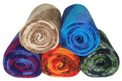 "Alpaca Knit Color Blend Tube Scarf Assorted 10"" x 74"""