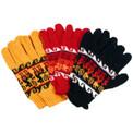 Alpaca Blend Knit Gloves Adult Assorted Colors