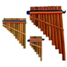 Hand Made Pan Flute # 1 Peru (120)