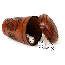 Leather Dice Cup