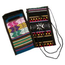 Lens Pouch Manta Woven Assortment Hand Made Artisan Peru