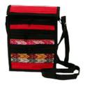 Manta Four Pocket Purse Zippered and Handle Adjustable