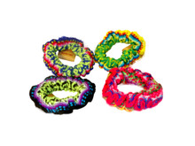 Gather Weave Hair Scrunchy Assorted Colors