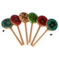 Spinning Drums Assortment Southwest Hand Painted (One)