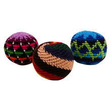 "Hand Crocheted 2.75""  Assorted Hacky Sack"