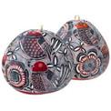 """Gourd  3"""" Primavera Ornament Design Assortment"""