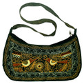 Colca Canyon Embroidered 1/2 moon Purse
