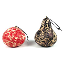 Gourd Relief Carved Ornament