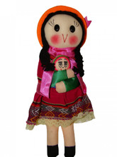 """Adorable 9"""" Doll that promotes cultural diversity Assorted Colors"""