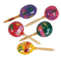 "Small 6"" Gourd Maraca Pairs Traditional"