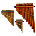 Pan Flute # 3 Jumbo Large packaged Peru ( 400)