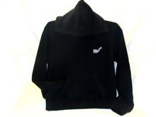 Alpaca Blend Hoodie Baja with Kangaroo Pockets Black (15)