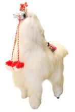 Alpaca Doll Fur Super Soft  with Tassels