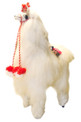 Alpaca Doll Fur Super Soft  with Tassels