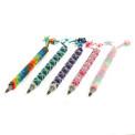 Glass Hand Bead Write Pens Assorted Guatemala Fair Trade Artisan Made PH101