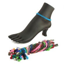 Daisy Solid Anklet - One Dozen