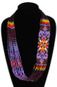 "The Star Story Necklace Tribal Style 22"" Prize Collar"