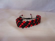 Chira Seed Adjustable Four Row Bracelet Close Out