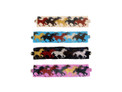 """Double Magnetic Clasp Glass Fine Bead Horse 2"""" Bracalet Icon"""