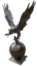 Eagle Lawn Art Sculpture Recycled Aluminum