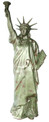 "Statue of Liberty with Torch 90"" x 23"" x 25"" Lamp Wired"