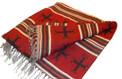 "Laptop Wool Blend Blanket Wrap Reversible 28"" x 72"""