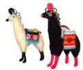 Alpaca wool LLama key rings