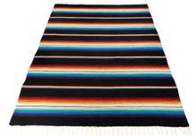 Sarape Purple Heavy Cotton Weave Made in Mexico