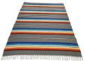Sarape Gray Heavy Cotton Weave Made in Mexico