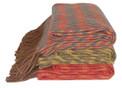 Zig Zag Pattern Loomed 100% Alpaca Blanket