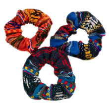 Manta Cotton Scrunchies With Elastic Multicolored Assortment Peru