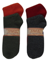 Alpaca Women's Socks Small 5-7 Size Solid Color Casual Wear
