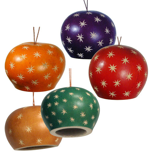 Loading zoom - Gourd Star Bell Dome Ornament 3