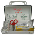 S202085, California First Aid Kit - Metal Box - 16 Passenger