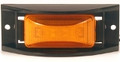 ECVM153Y, Sound Off LED 150 Series Marker Light w/Mounting Guard & Harness (Amber)