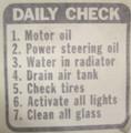 SB114, Daily Check