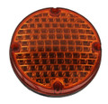 "E7561EBOA-FA, Sound Off LED FA Series 7"" Round Warning Light (Amber)"