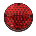 "E7561EBOR-FA, Sound Off LED FA Series 7"" Round Warning Light (Red)"