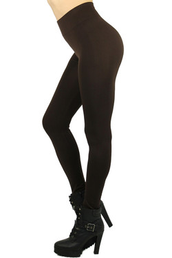 Basic Spandex Full Length Leggings - Plus Size