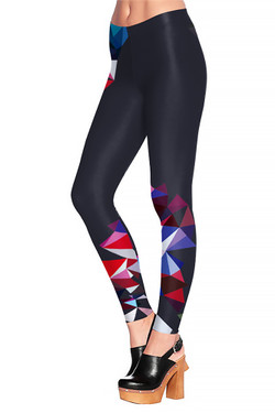 Mosaic Crystal Leggings