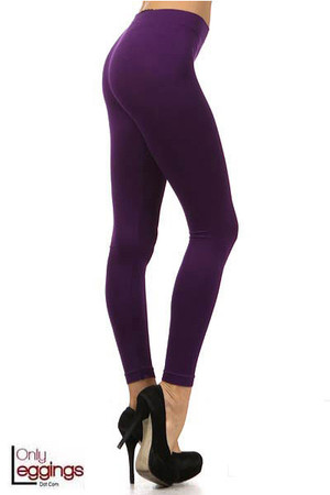 Basic Full Length Spandex Leggings