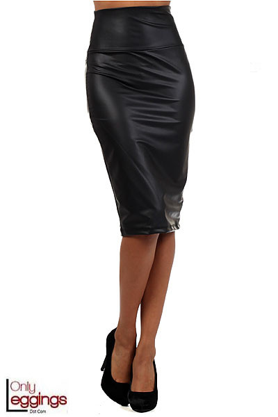 faux leather pencil skirt onlyleggings