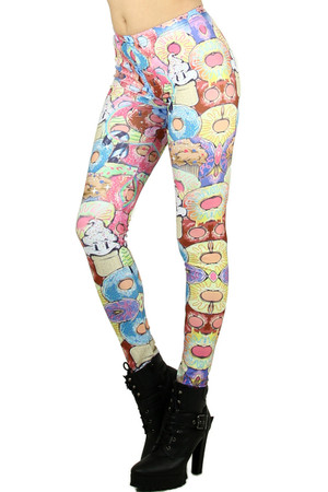 Donuts and Ice Cream Leggings
