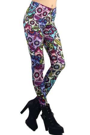 Mexican Sugar Skull Leggings